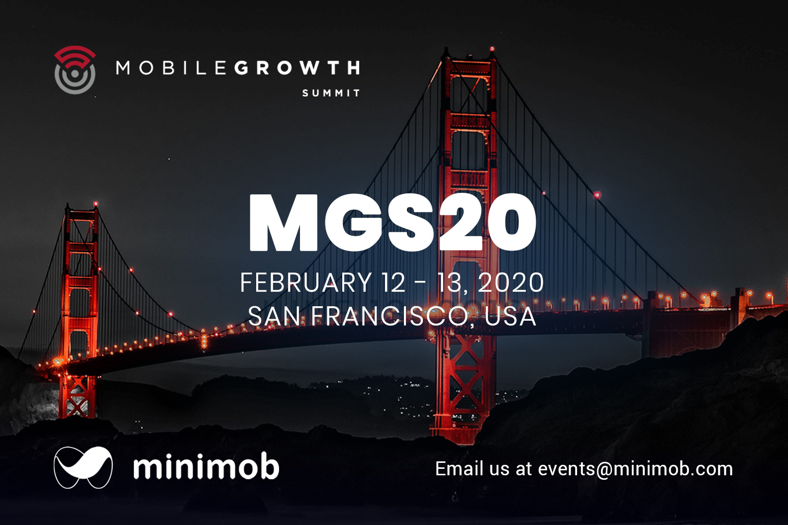 Minimob attends @Mobile Growth Summit, San Francisco USA